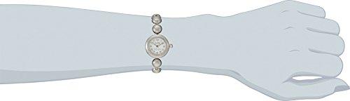 COACH Women's Rivet Studded Bracelet Watch Silver/Stainless Steel Watch