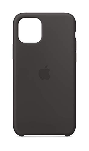 Apple Silicone Case (for iPhone 11 Pro) – Black