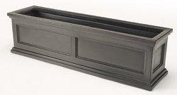 madison-flower-box-black-44-inch