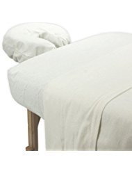 True Premium 100% Cotton Jersey Massage Table Sheet 3 Pc Set (Head In The Clouds)