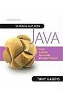 Starting Out with Java: From Control Structures through Objects with VideoNotes on CD (4th Edition)