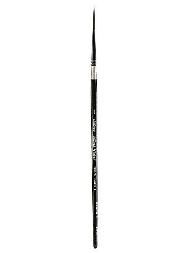 Silver Brush Black Velvet Series Brushes 1 script liner 3007S [PACK OF 2 ] ()