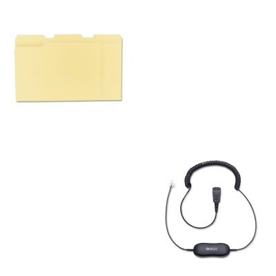 kitjbr8801199unv12113-value-kit-jabra-coiled-direct-connect-smart-cord-for-headsets-jbr8801199-and-u