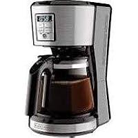 cafetera programable de 12 tazas black decker(tecnologia vortex,de acero,facil de usar,practica,cuenta con la función de…