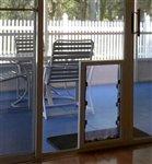 MaxSeal In-Glass Door Mount Pet Door Door Mount Dual Flap
