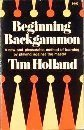 Beginning Backgammon, Holland, Tim, 0679504052