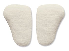 Hapad Longitudinal Metatarsal Arch Pads, Pediatric, 1/4''H,12 Pair Per Case