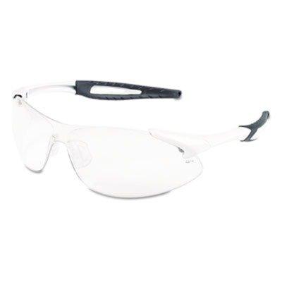 Crewsamp;reg; - Inertia Safety Glasses, White Frame, Clear A