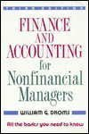 Finance and Accounting for Non-Financial Managers 9780201550375