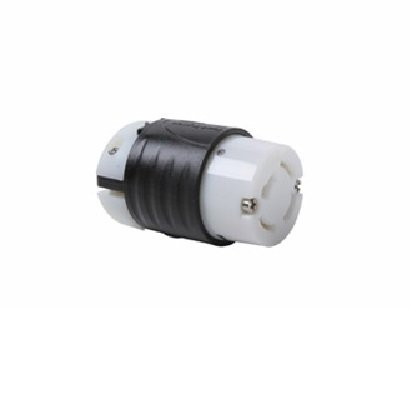 Legrand-Pass & Seymour 7413SS Industrial Specification Grade Turn Lock Connector, Ip20 Suitability. 20-Amp 125-volt/250-Volt Three Pole 4 Wire