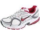 Nike Womens Running Shoes ZOOM NUCLEUS MC+ White/Brilliant Magenta/Silver SZ 12