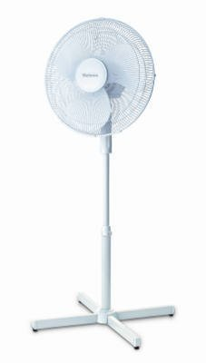 "Holmes #HASF1676-UC 16"" White Oscillating Stand Fan"