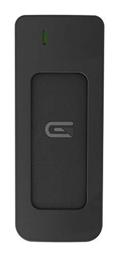Glyph Atom Silver 525GB SSD USB 3.0 Thunderbolt 3 USB-C 3.1, Gen 2