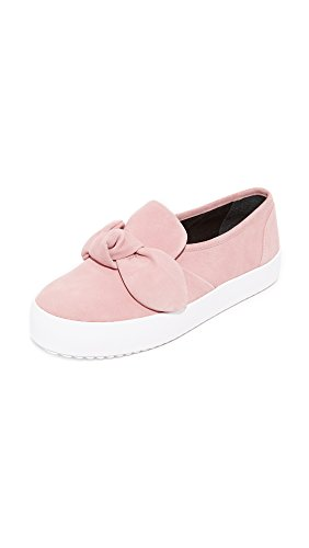 Rebecca Minkoff Women's Stacey Suede Sneakers, Pale Pink, 7 B(M) US