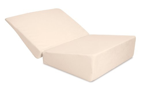 Contour Products Folding Bed Wedge Pillow, 7 Inches X 24 ...