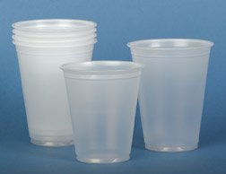 NON03007 - Disposable Cold Plastic Drinking Cups,Translucent