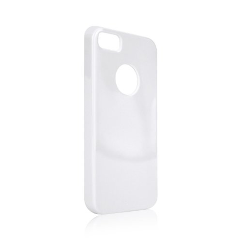 Xqisit 15099 Custodia Flex TPU per iPhone 5/5s, Bianco
