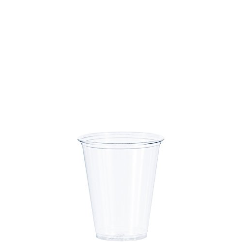 Dart TP7 7 oz Ultra Clear PET Plastic Cup (Case of 1000) ()