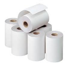 100 Rollos de papel termico de 80 mm de ancho para impresora ...