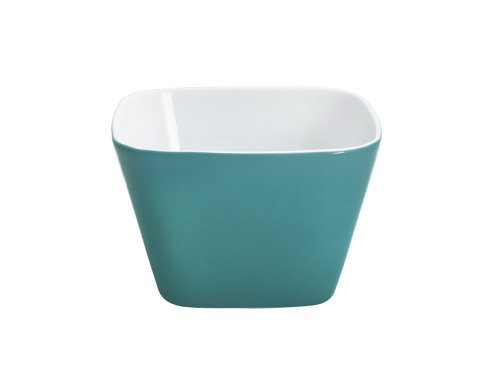 (KAHLA Abra Cadabra Small Dish Angular 2-1/4 by 2-1/4 Inches, Petrol Color, 1 Piece)