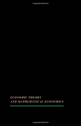 Trade, stability, and macroeconomics;: Essays in honor of Lloyd A. Metzler (Economic theory and mathematical economics)