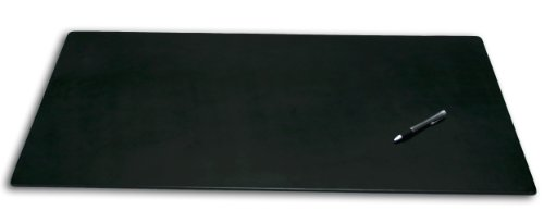 Dacasso Leatherette Office Desk Pad, 38 by 24-Inch, Black by Dacasso