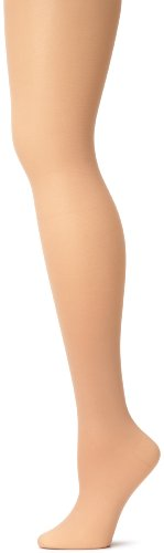 Tights Nylon Capezio (Capezio Women's Hold & Stretch Footed Tight,Light Suntan,X-Large)