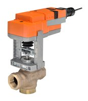 Belimo | G320D+LVKB24-3 | Globe Valve | 0.75'' | 3 Way | 7.5 Cv | w/ Electronic FS | 24V | Floating by Belimo