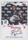(Hakim Warrick (Basketball Card) 2005-06 Topps - Rookie Photos Shoot Autographs #RSA-HW)