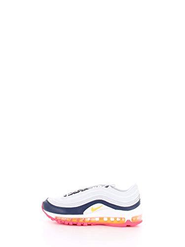 (Nike Air Max 97 Premium Women's Shoes Pure Platinum/Laser Orange 921733-015 (10 B(M) US))