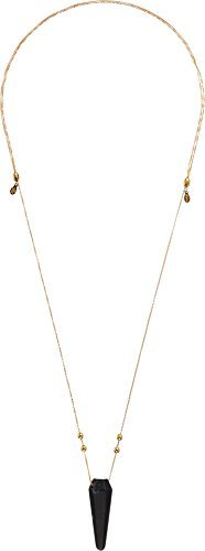 Alex and Ani Women's Moss Agate Pendulum Necklace 14kt Gold Plated One Size made in New England