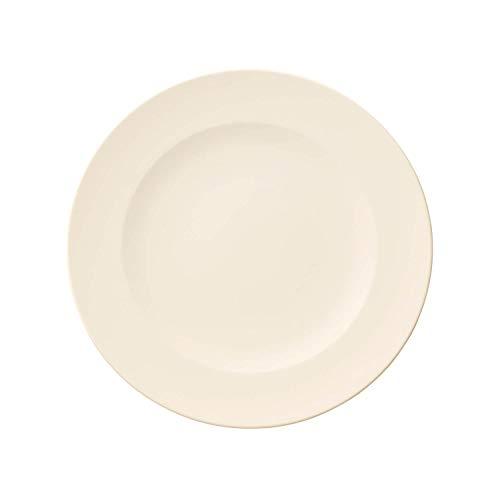 Villeroy & Boch For Me plato llano, porcelana premium, blanco