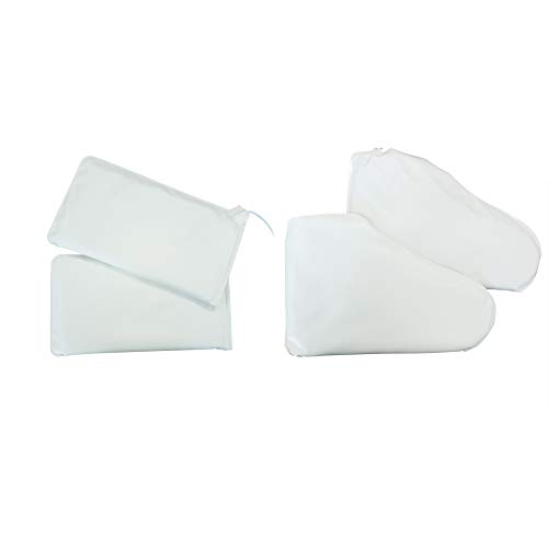 - TOA Supply Electric Warming Mittens & Booties Set for Hand & Feet Heated Spa Therapy Treatment