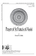 Prayer of St. Francis of Assisi - David N Childs - Ed Octavo - SB - SBMP401 - Sheet Music (Prayer Of St Francis Of Assisi Music Sheet)