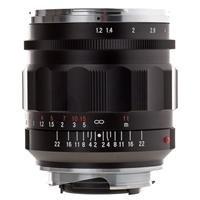 Voigtlander Nokton 35mm f/1.2 II Aspherical Wide Angle Leica M Mount Lens - Black by Voigtlander