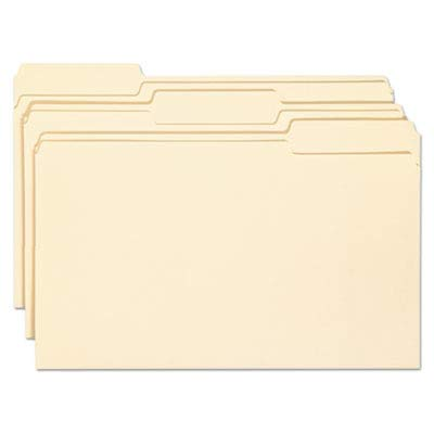 SMD15338 - Smead 15338 Manila File Folders with Antimicrobial Product Protection
