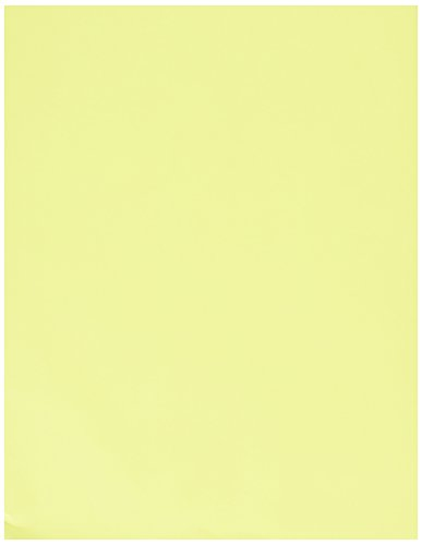 Exact 26701 Multi-Purpose Colored Copy Paper, 8-1/2'' x 11'' Size, Bright Yellow by Exact