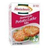 Manischewitz Homestyle Potato Latke Pancake Mix, Passover, Low Sodium, 6-ounce (Pack of 3) by Manischewitz