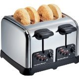 Hamilton Beach – Classic Chrome 4-Slice Extra-Wide Slot Toaster