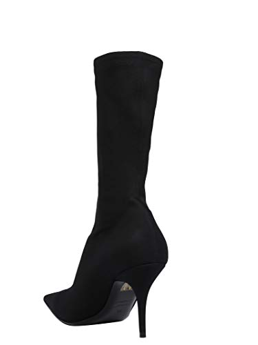 Coton 524934w05301000 Balenciaga Bottines Femme Noir x7twqYS0