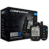 (Compustar CS8900-AS-BL 2 Way LCD 1 Mile Range Remote Car Starter & Security System with Blade-AL Bypass Module Included)