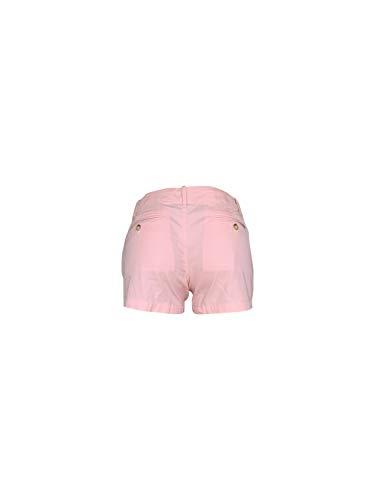 POLO RALPH LAUREN Women's 3 inch Pony Logo Khaki Shorts Summer Chino Short (8, Pink/Pink Pony)