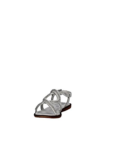 Doroty 2 Kelly Bianco Diamante 34 LK4438 CA01 Lelli UK Sandals Pelle nXPSvHHq