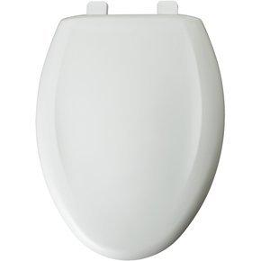 Bemis 1200TCA 020 Elongated Closed Front Toilet Seat, Crane White by Bemis