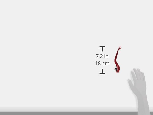 Puig 260RN 2.0/pieghevole frizione leva con selettore nero rosso