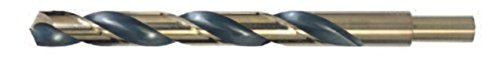 Viking Drill and Tool 59300 Type 278-UB 135 Degree Split Point Reduced Shank Drill Bit, 19/32' 19/32 Anchor Fasteners