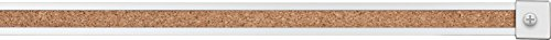 (Best-Rite 1-Inch Map Rail, 4-Feet, Set of 6, Natural Cork (522D))