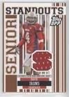 David Irons (Football Card) 2007 Topps Draft Picks and Prospects (DPP) - Senior Standouts Senior Bowl Relics #SS-DI
