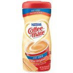 Coffee-mate The Original Non Dairy Creamer Fat Free 16 OZ (Pack of 24) by Coffee-mate