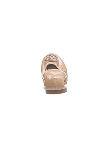 Sale Be Me Floral Chapado Exterior De Charol Zapatos De Cuero Plegables Nude